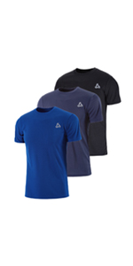 Men's Mesh Quick-Dry Short Sleeve Workout Shirt