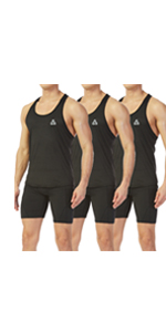 Men's Mesh Y-Back Muscle Sleeveless Workout Tank Top