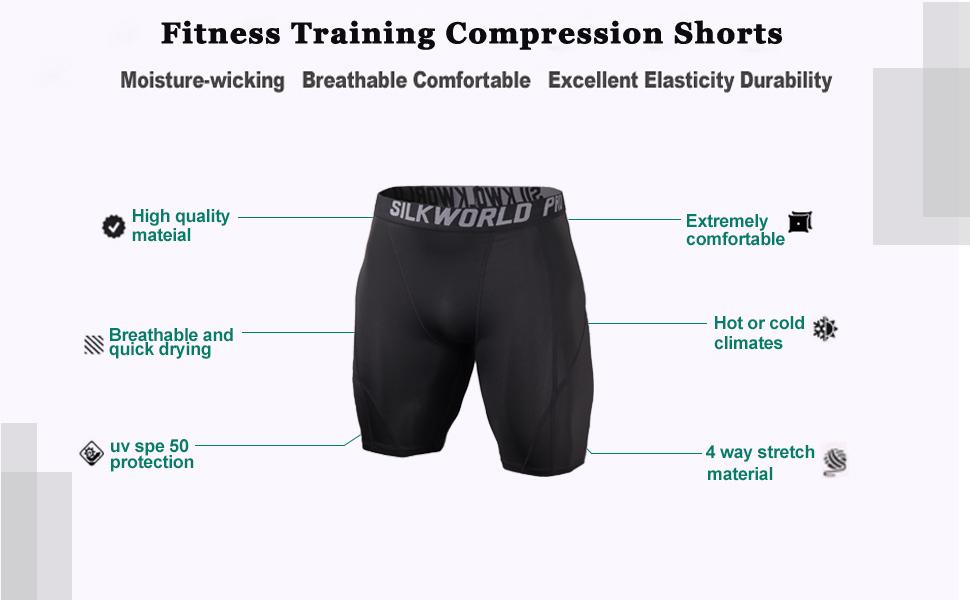 COMPRESSION RUNNING SHORTS