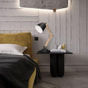 Amazon Com Tomons Desk Lamp Natural Wood Table Lamp