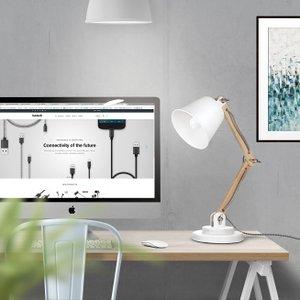 Amazon Com Tomons Dl1002us W Tomons Natural Wood Desk