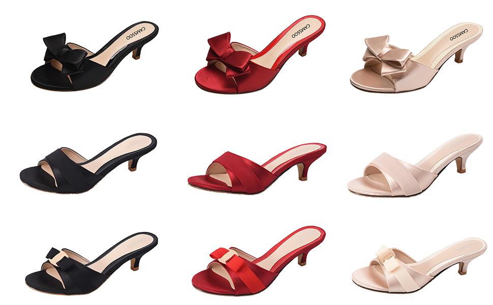 16db1dd0c0c7e Women s Pointy Toe Sandals Mid Heel Mules Open Back Shoes · Women s Bead  T-Strap Bohemia Sandals Summer Beach Flip-Flops Wedge Slippers ...
