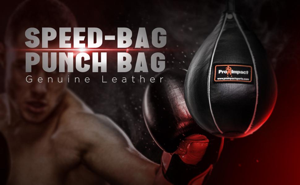 """Pro Impact Durahide Speedbag Black Durable  Medium 7""""x10"""""""