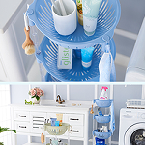 Stackable for a counter shelf laundry office bathroom bedroom storage