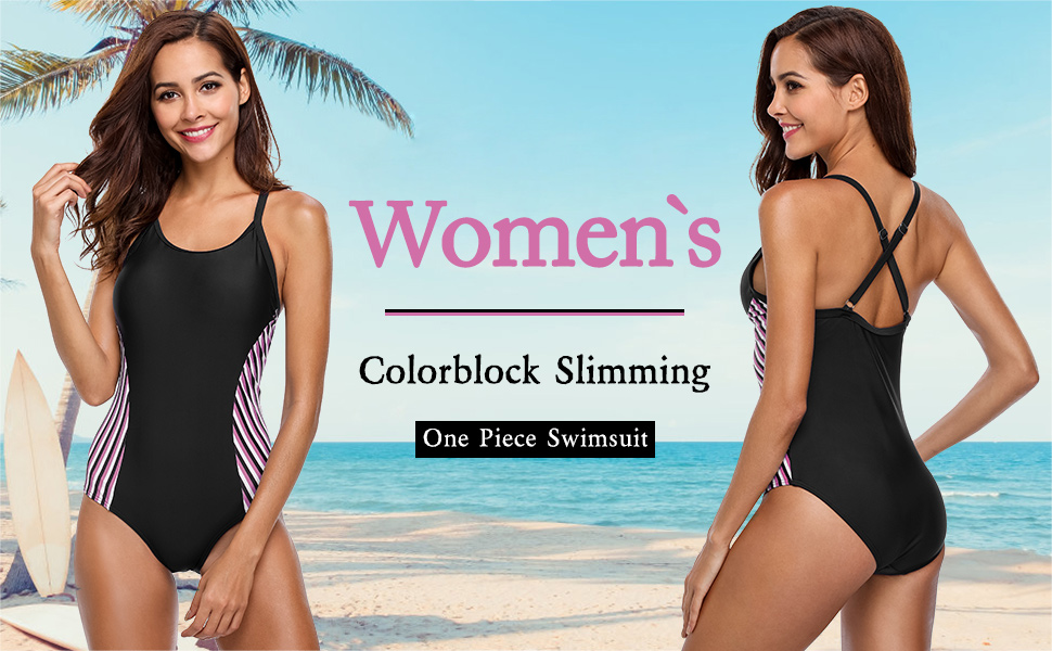 480649f324 ... Women's Slimming Athletic One Piece Swimsuit -------------------------------------