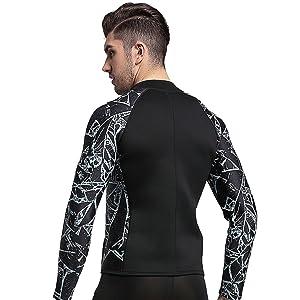 Amazon.com: NatyFly traje de neopreno de mangas largas para ...