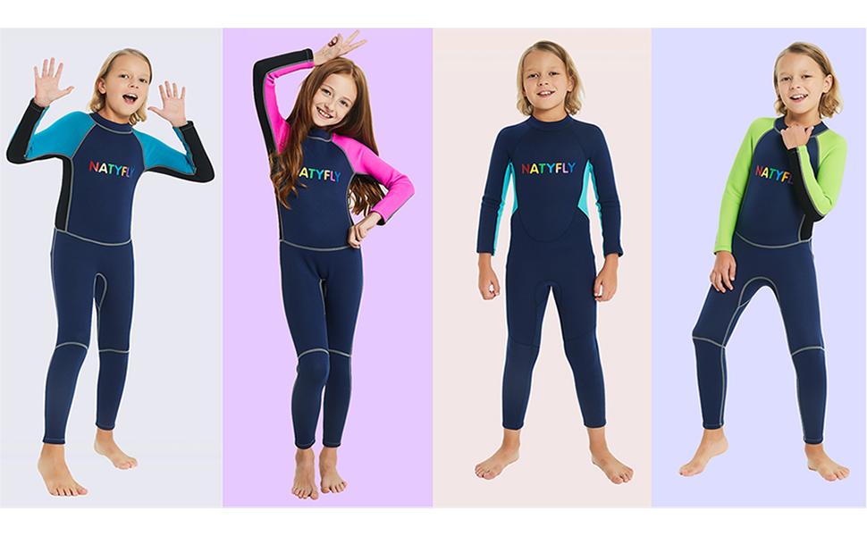 Amazon.com: Trajes de neopreno para niños y niñ ...