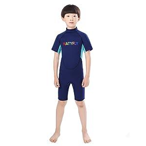 Amazon.com: NATYFLY - Traje de neopreno para niños de 0.079 ...