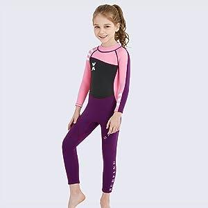 girls wetsuit
