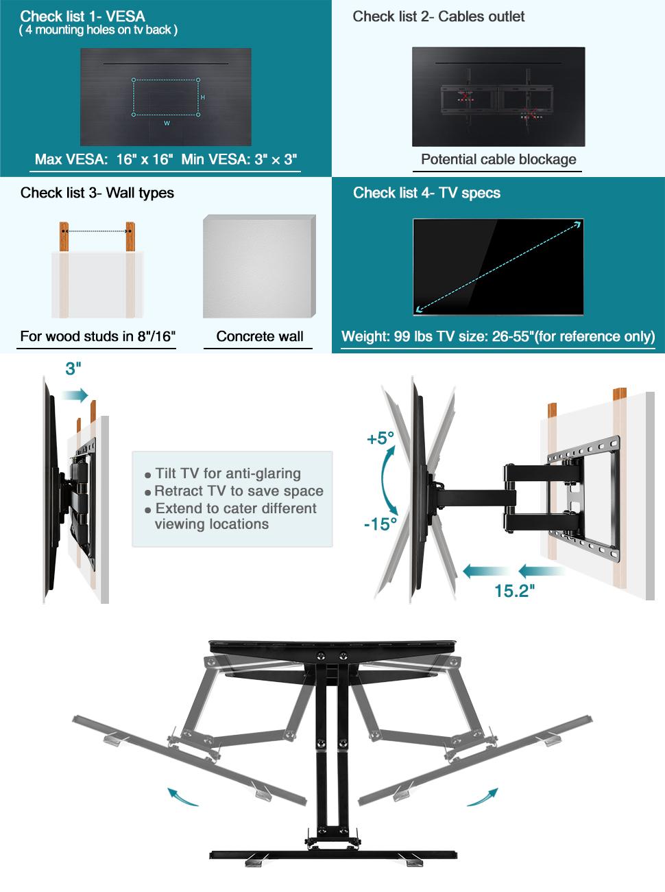 MD2380_02 tv wall mount bracket