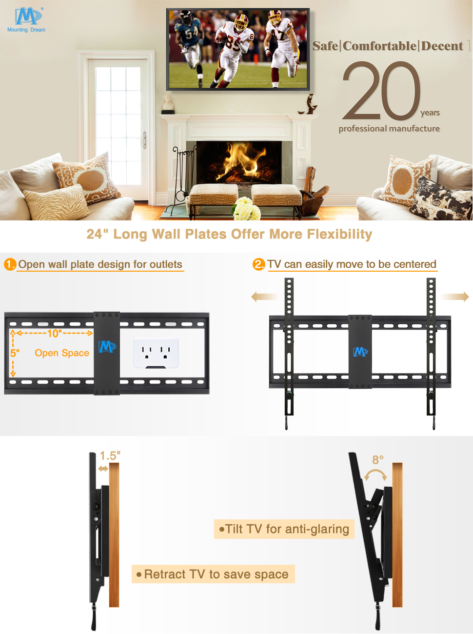 tv wall mounts tv mount