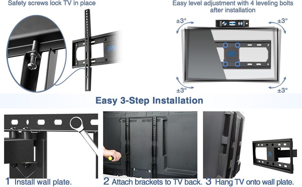 tv mount tv wall mounts 32 43 50 55 inch tv