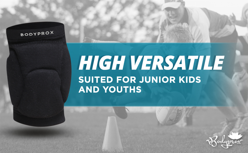 9860b014a6fa1 The Bodyprox Knee Pads for Juniors and Youths are essential for Football