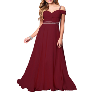 Cocktail Party Long Dress