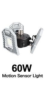 60W led work shop light for garage, daylight