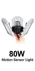 LED Shop Light for garages,4FT Daylight White,LED Ceiling Light, Led Garage Lights 8000lm