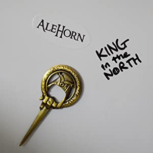 alehorn thrones viking bar bottle opener mead beer craft birthday bachelor wine groomsmen