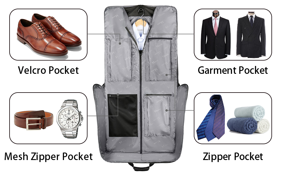 large luggage garment bag for business travel