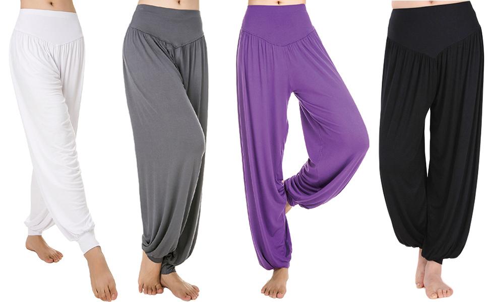 Cotton Yoga Harem Womens Pants Sports Dance Modal Soft Avacostume UMpqSzGjLV