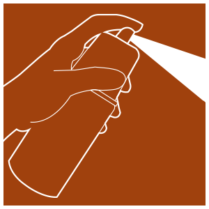 Spray and hand wash