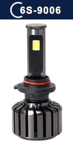 9006 hb4 6s series led headlight kit