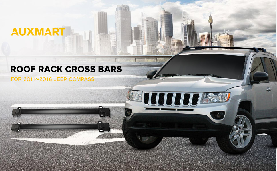 Product Description. Fitment: 2011 2016 JEEP Compass With Vertical Side Bars