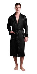 mens silk robe ...