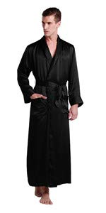 mens silk robe · long silk robe ...