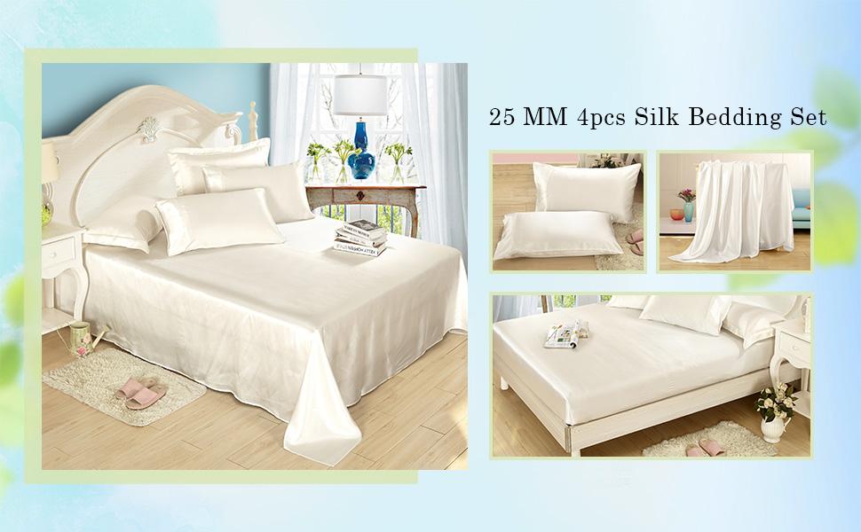 Luxury 25 Momme Silk Bedding Set