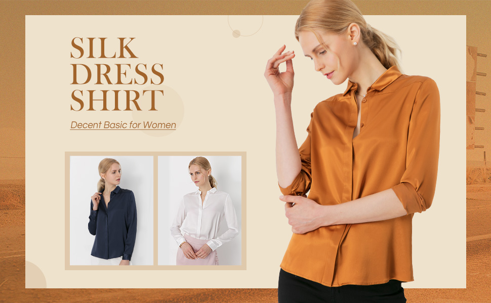 989fa152bce9ff LilySilk Ladies Silk Blouse for Women Enjoy 100 Real Pure Mulberry ...