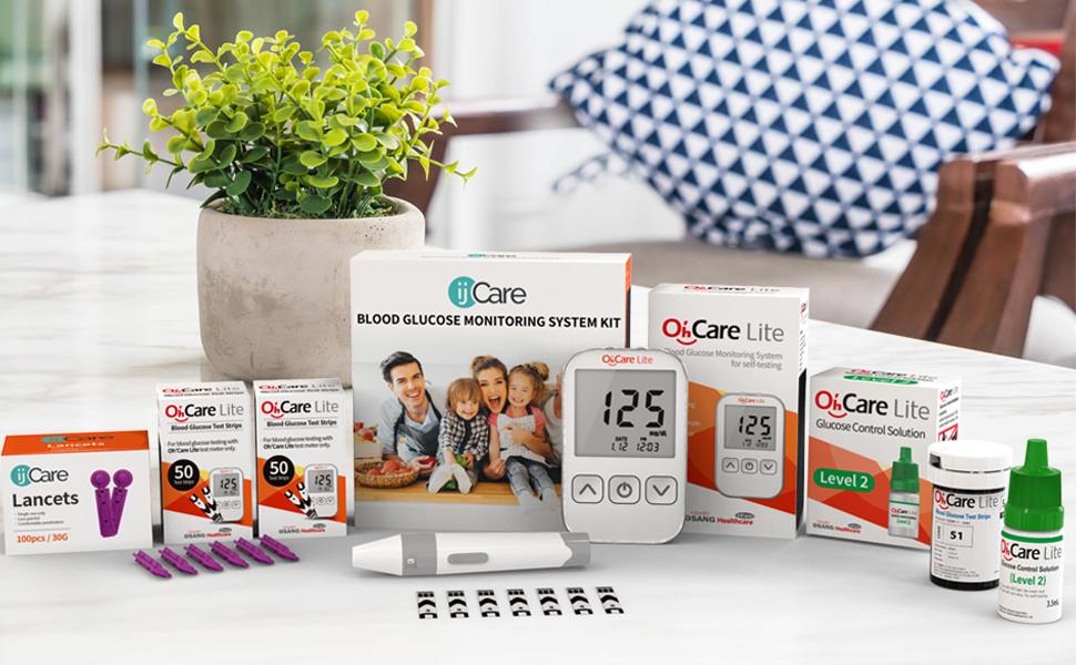 ijCare Blood Sugar Test Kit