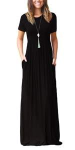 Short Sleeve Maxi Dresses