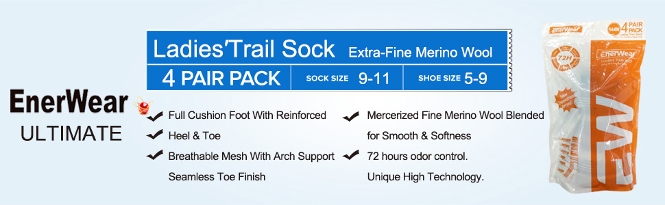 women trail outdoor socks