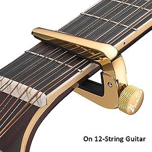 universal capo for acoustic guitar bass mandolin banjo ukulele electric ukulele string