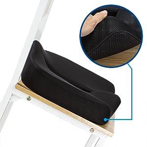 Amazon Com Orthopedic Coccyx Memory Foam Seat Cushion To