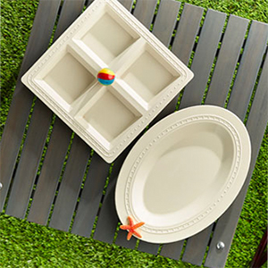nora fleming melamine and wood platters