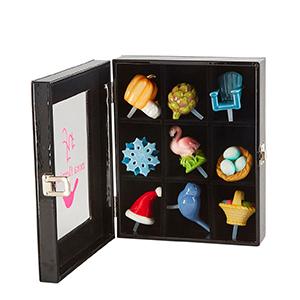 nora fleming minis in display box