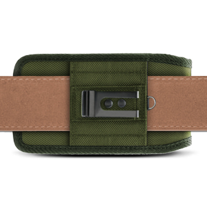 Universal Phone Pouch Case - Belt Loop Horizontally - Olive Drab (OD) Green - Evocel Urban Pouch