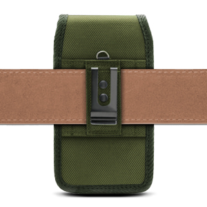 Universal Phone Pouch Case - Belt Loop Vertically - Olive Drab (OD) Green - Evocel Urban Pouch