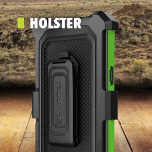 Removable 360-degree Rotating Belt Clip Holster - Evocel - Explorer Series Pro