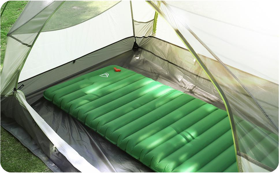 Amazon.com: Inflable Colchón de dormir, terra Hiker Moisture ...