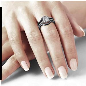 Wedding Ring Unique Diamond