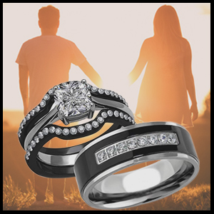 engagement and wedding rings for women