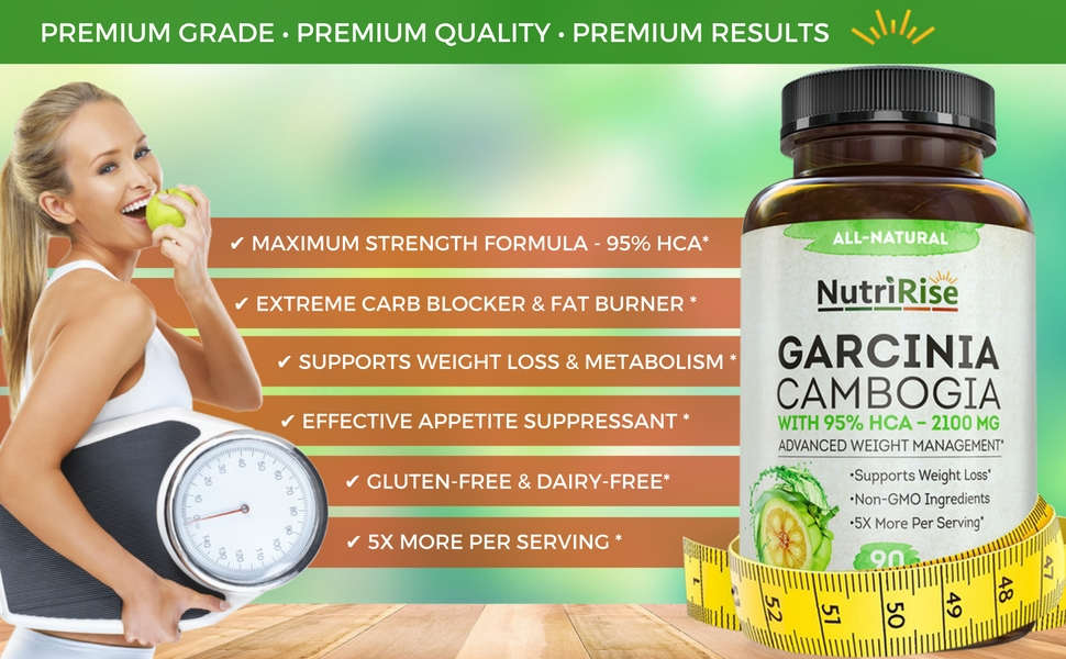 Amazon Com Pure Garcinia Cambogia Extract With 95 Hca For Fast