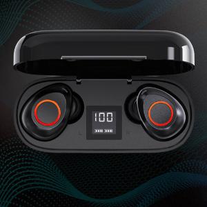 loud deep bass true wireless iphone bluetooth 5.0 earbuds bluetooth earbuds for iphone wireless