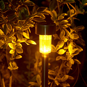 GIGALUMI 6811 Solar Garden Lights Add A Flair To The Front Of Your House  And Donu0027t Required A Ridiculous Amount Of Wiring. At Night, They Provide  Accent ...