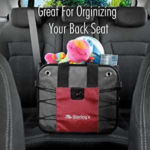 backseat organizer back seat for file document organizer car trunk organizer for SUV