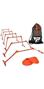 Pro Adjustable Hurdles and Cones