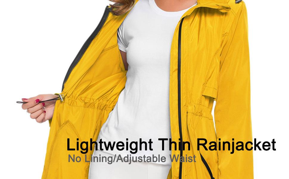 Lightweight Thin Rainjacket