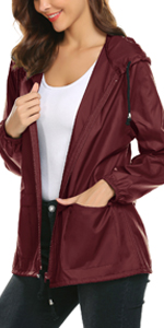 sports jacket lightweight waterproof